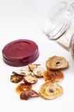 Dried mushrooms Royalty Free Stock Photos