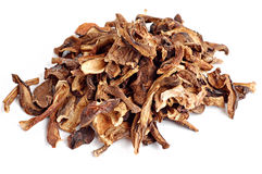 Dried mushrooms Royalty Free Stock Photography