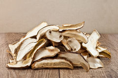 Dried mushrooms Royalty Free Stock Photos