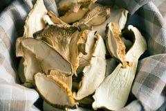 Dried mushrooms Stock Photo
