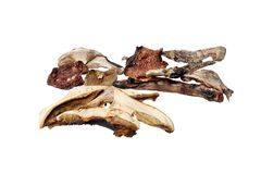 Dried mushrooms mix Royalty Free Stock Photos