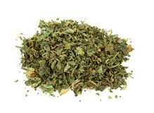 Dried nettle tea royalty free stock photo