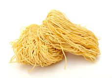 Dried noodle Stock Photo