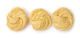 Dried noodle Royalty Free Stock Photo
