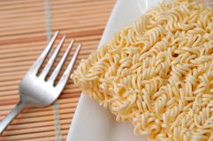Dried noodles Royalty Free Stock Photos
