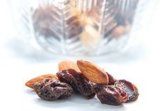 Dried nutritious fruits Royalty Free Stock Images