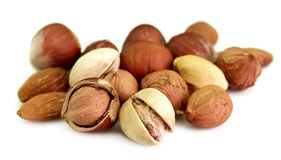 Dried nuts Royalty Free Stock Photo