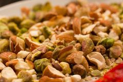 Dried nuts Royalty Free Stock Image