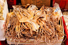 Dried Octopus Royalty Free Stock Photography