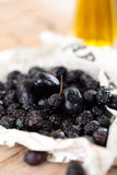 Dried olives. Royalty Free Stock Photography