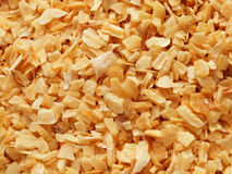 Dried onion flakes Stock Photo