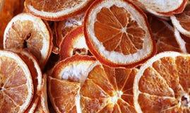 Orange slice. Dried slices of orange Stock Images