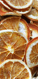 Dried orange. Dried slices of orange in shop Royalty Free Stock Photo