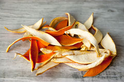 Dried orange peel Royalty Free Stock Photography