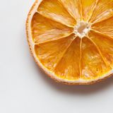 Dried orange slice Royalty Free Stock Photos
