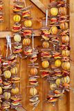 Dried Orange Slices Christmas Stock Images