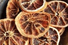 Dried orange slices Stock Photo