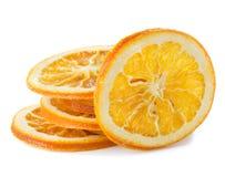 Dried orange slices Royalty Free Stock Photo