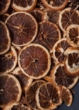 Dried orange slices Stock Photography
