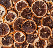 Dried orange slices Royalty Free Stock Image