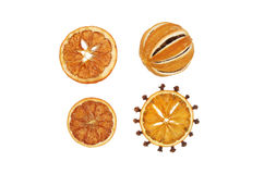 Dried orange Stock Photography