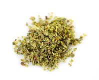 Dried oregano macro Royalty Free Stock Photography