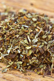 Dried oregano making approach Stock Images