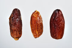 Dried organic dates Royalty Free Stock Photo