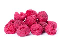 Dried Organic Raspberry Stock Photos