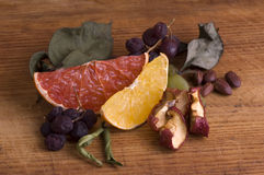 dried out fruits Stock Photography