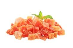 Dried papaya Stock Images
