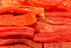Dried papaya Stock Photos