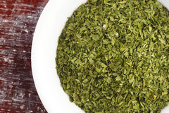 Dried parsley Royalty Free Stock Image