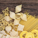 Dried Pasta Abstract Royalty Free Stock Images