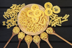 Dried Pasta Abstract Stock Photo