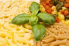 Dried pasta Royalty Free Stock Photography
