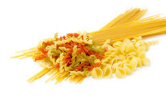 Dried pasta Stock Images