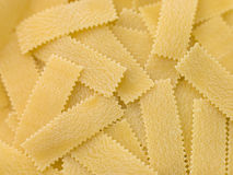 Dried Pasta Strips Royalty Free Stock Image
