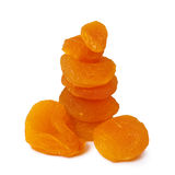 Dried peach apricot Stock Photos