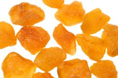 Dried peaches Royalty Free Stock Image