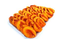 Dried peaches Royalty Free Stock Photos