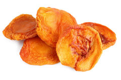Dried Peaches Stock Photography