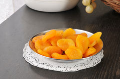 Dried peaches Stock Photos