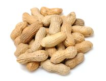 Dried peanut Royalty Free Stock Photography