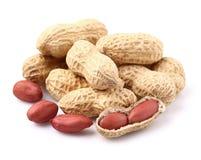 Dried peanuts Royalty Free Stock Photos