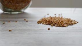 Dried peas grains stock footage