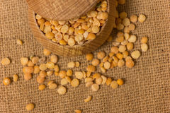 Dried peas Royalty Free Stock Photography