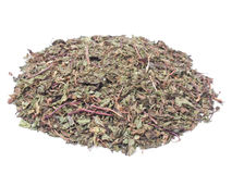 Dried peppermint Royalty Free Stock Photos