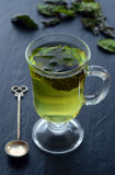 Dried peppermint tea Royalty Free Stock Image