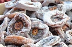 Dried persimmon Royalty Free Stock Photography